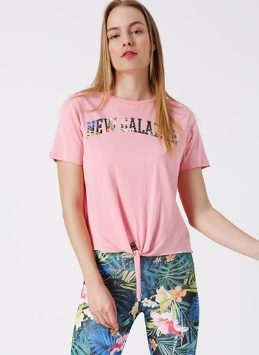 New Balance Tişört Pembe